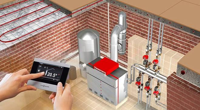 Автономное отопление под ключ